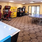 Our game room offers hours of fun
