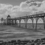 Clevedon Pier opposite the pub/hotel
