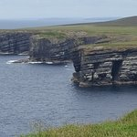 Loop head road cliffs... views with out the crowds of Cliffs of Moher