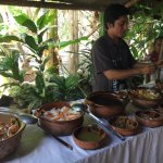 Lunch with Mayan family