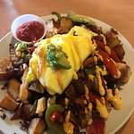 Hacienda Hash~ FAB and enough for 3 people!
