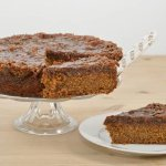 GF & DF & Vegan Toffee Apple Cake