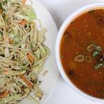 Noodles with Veg manchurian