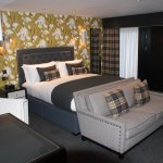 Luxurious Woodland Suprior Lodge rooms with 6ft beds