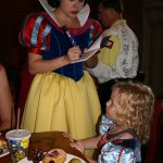 Snow White @ Akershus character meal breakfast