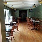 Breakfast room, slider to patio