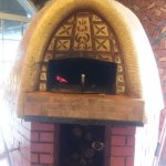 The wood-fired oven