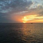 sunset from Driftwood Beach