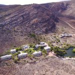 A view of our lodge, from my drone.