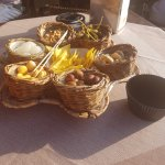 Snacks with drinks in Bardolino