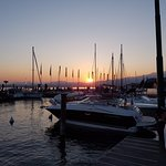 Stunning sun set in Bardolino
