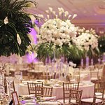 Wedding reception in Plaza Ballroom