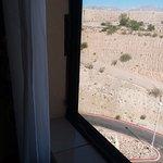 Duct Tape Surrounding window (black duct tape)...