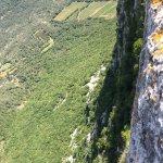 Pic St. Loup vue depuis le sommet