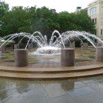 Fountain Near the Bus Stop