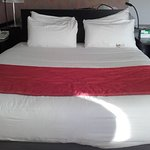 Large, comfortable double bed