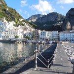 looking towards Amalfi