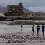 Ballinskelligs beach, McCarthy's Castle not far away.