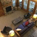 Example of RiverWild Forest Home, Living Area