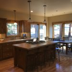 Example of RiverWild Forest Home, Kitchen