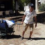 Petit chariot pratique pour les bagages