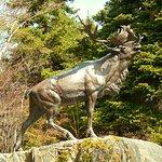 Caribou monument