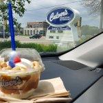 Delicious..Cashew Carmel worth the calories!