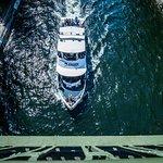 Argosy Cruises sailing through the Montlake Cut
