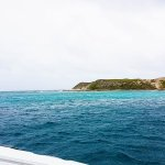 Approaching Gibbs Cay.