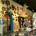 Gift shop with art, books, cards, jewelry and more.