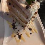 Wondrous Italian cannelloni cake.