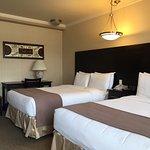 Chambre standard avec 2 lits doubles