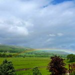 this was taken from the Yoredale room's terrace