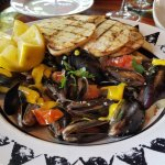 Melt in your mouth mussels!
