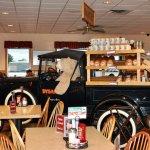 Dysart's Restaurant - Interior - Evening - Love The Bear!