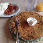 Dysart's Restaurant - Blueberry Pancake Platter - Incredible!
