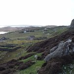 The views on the way up to Carloway Broch.