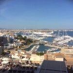 View of Palma mariner and city