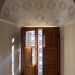 Window in the Azrak/blue room