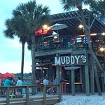 "Below Vickery's is ""Muddy's"" Bar"