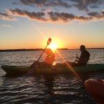 The unbelievable sunset kayak tour!