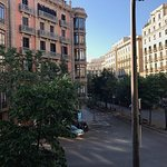View of La Rambla from Room 118 (Sens Suite).