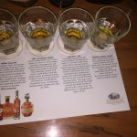 Description of the bourbon tasting