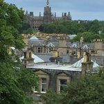 View of Fettes College from the bay windows