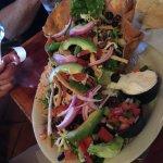 Chicken Taco Salad, Sagebrush Cantina, Fenton, MI