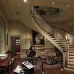 Staircase in the DuPont mansion