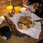 How good were these muffins and fresh fruit!