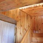 plush wood finish rooms