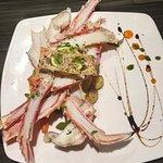Crab legs dinner