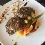 Our world famous Peppercorn Steak